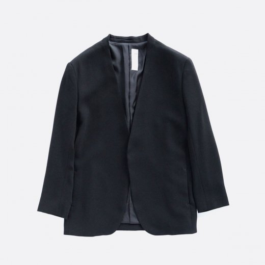 ACETATE & POLYESTER DOUBLE CROTH NO COLOR JACKET -MENS-