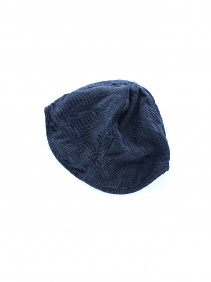TATAMIZE WORK CAP (NAVY LINEN)3