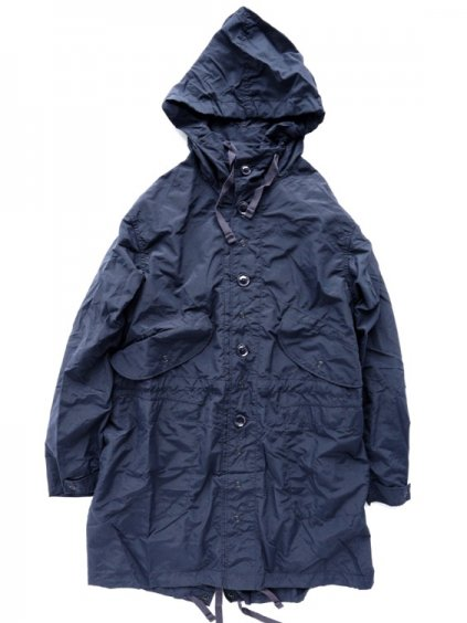 Engineered Garments  Highland Parka - Nylon Taffeta (NAVY)