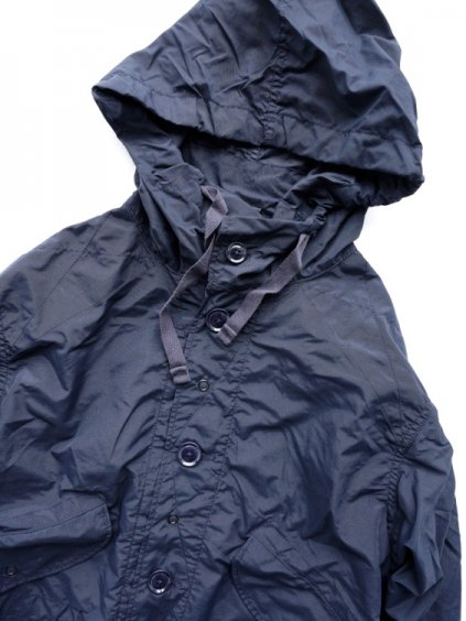 Engineered Garments  Highland Parka - Nylon Taffeta (NAVY)2