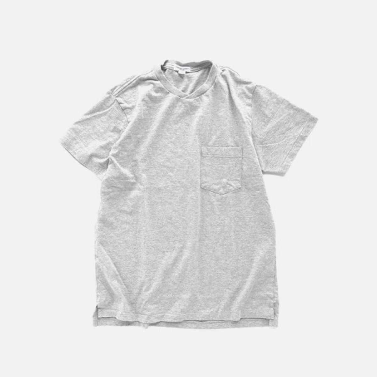 Engineered Garments  Workaday C/N Pocket Tee  (GREY)