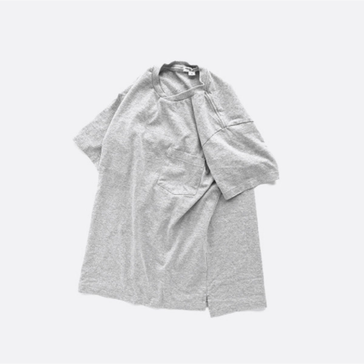 Engineered Garments  Workaday C/N Pocket Tee  (GREY)2