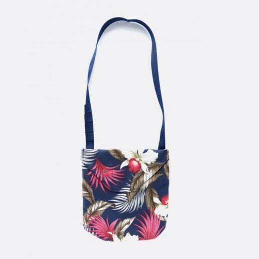 <img class='new_mark_img1' src='https://img.shop-pro.jp/img/new/icons39.gif' style='border:none;display:inline;margin:0px;padding:0px;width:auto;' />SHOULDER POUCH - HAWAIIAN FLORAL JAVA CLOTH