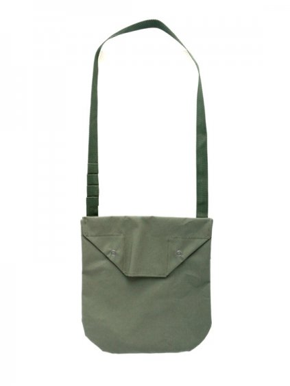 Engineered Garments Shoulder Pouch - Acrylic Coated  (OLIVE)