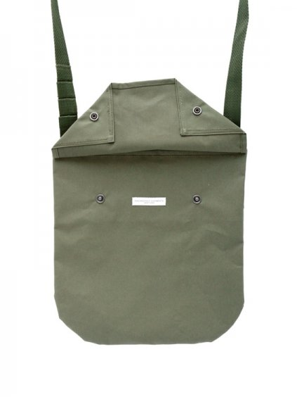 Engineered Garments Shoulder Pouch - Acrylic Coated  (OLIVE)2