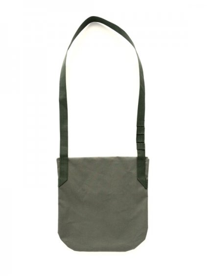 Engineered Garments Shoulder Pouch - Acrylic Coated  (OLIVE)3