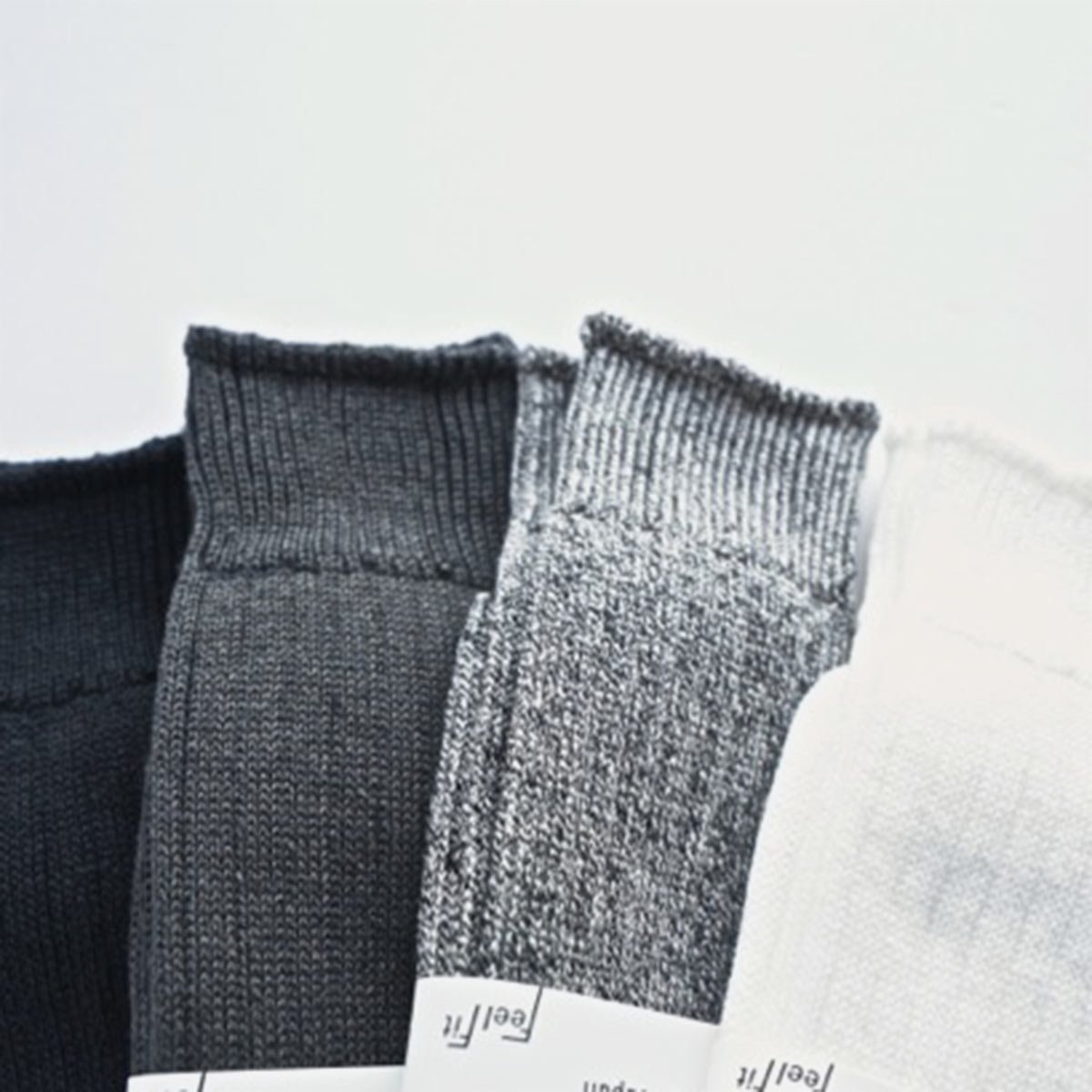 LINEN COTTON RIB SOCKS3