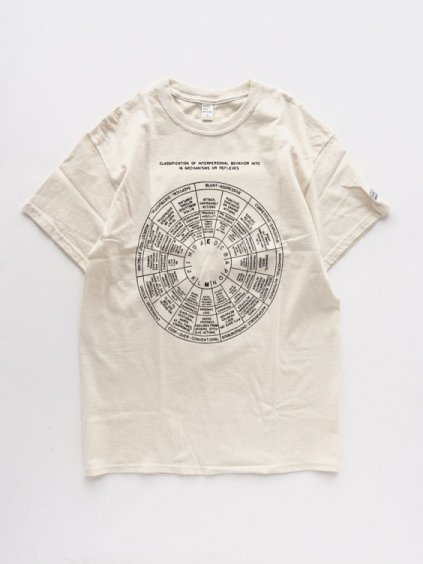 ENDS & MEANS PRINTED TEE  (NATURAL)1