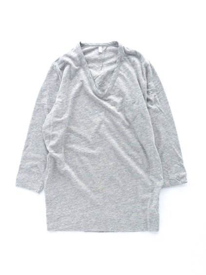 FIRMUM TULUFAN COTTON AMUNDSEN CUTSEW -LADY'S- (GREY TOP)