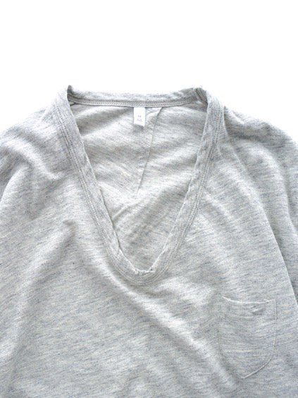 FIRMUM TULUFAN COTTON AMUNDSEN CUTSEW -LADY'S- (GREY TOP)2