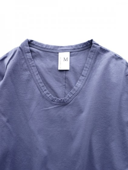NO CONTROL AIR 60/2 MANYTIMES MERCERIZED & BIO-PROCESSING PLAIN KNIT CUTSEW(blue lavender)2