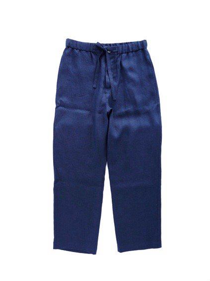 niuhans pajama   Comfort French Linen Pants  (Midnight Blue)