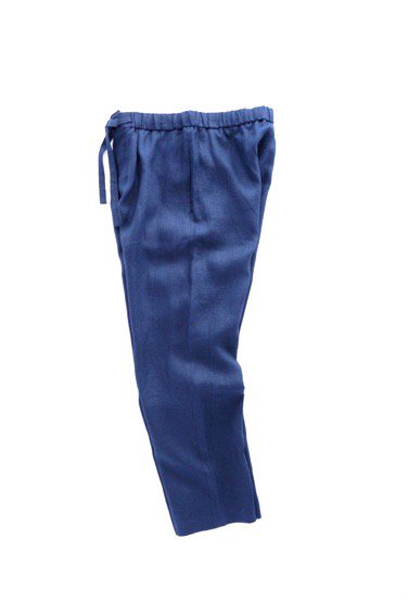 niuhans pajama   Comfort French Linen Pants  (Midnight Blue)3