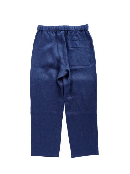 niuhans pajama   Comfort French Linen Pants  (Midnight Blue)4