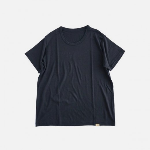 SUPER120S WASHABLE WOOL TEE