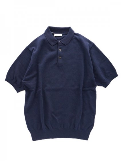 niuhans      Smooth Dry Touched Cotton S/S Polo  (Dark Navy)1
