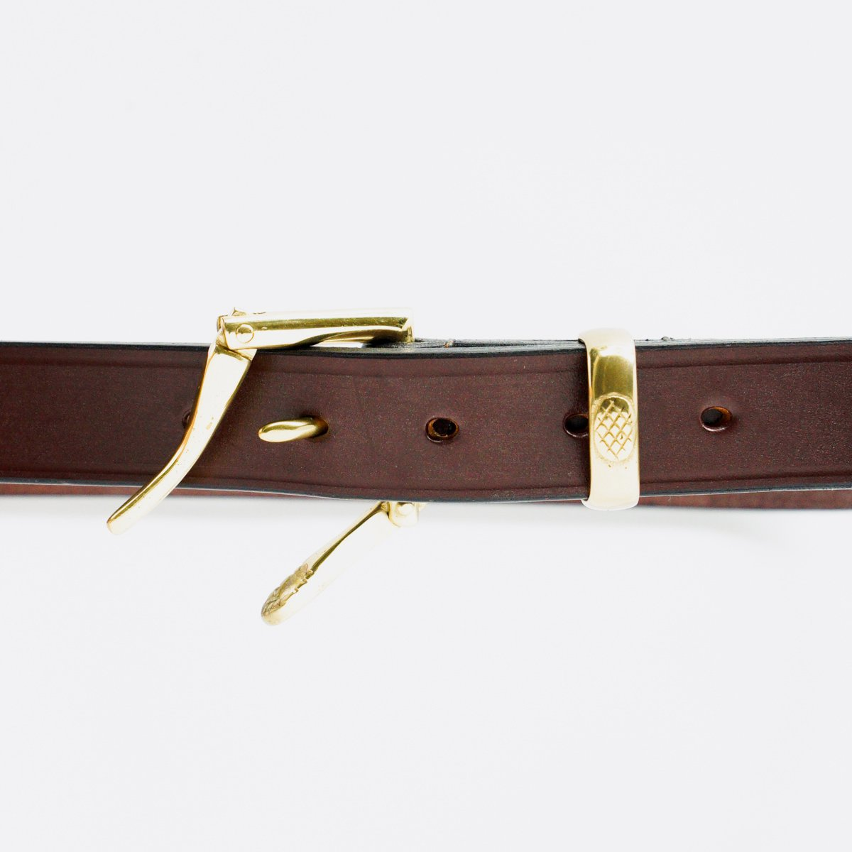 NEPENTHES QUICK RELEASE BELT NARROW(BROWN)3