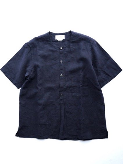 ENDS & MEANS NIZZA SHIRTS  (NAVY)