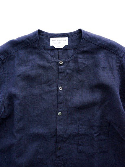 ENDS & MEANS NIZZA SHIRTS  (NAVY)2