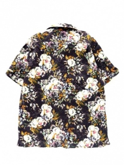 Engineered Garments  Camp Shirt - Botany Printed Lawn  (DK.NAVY)4