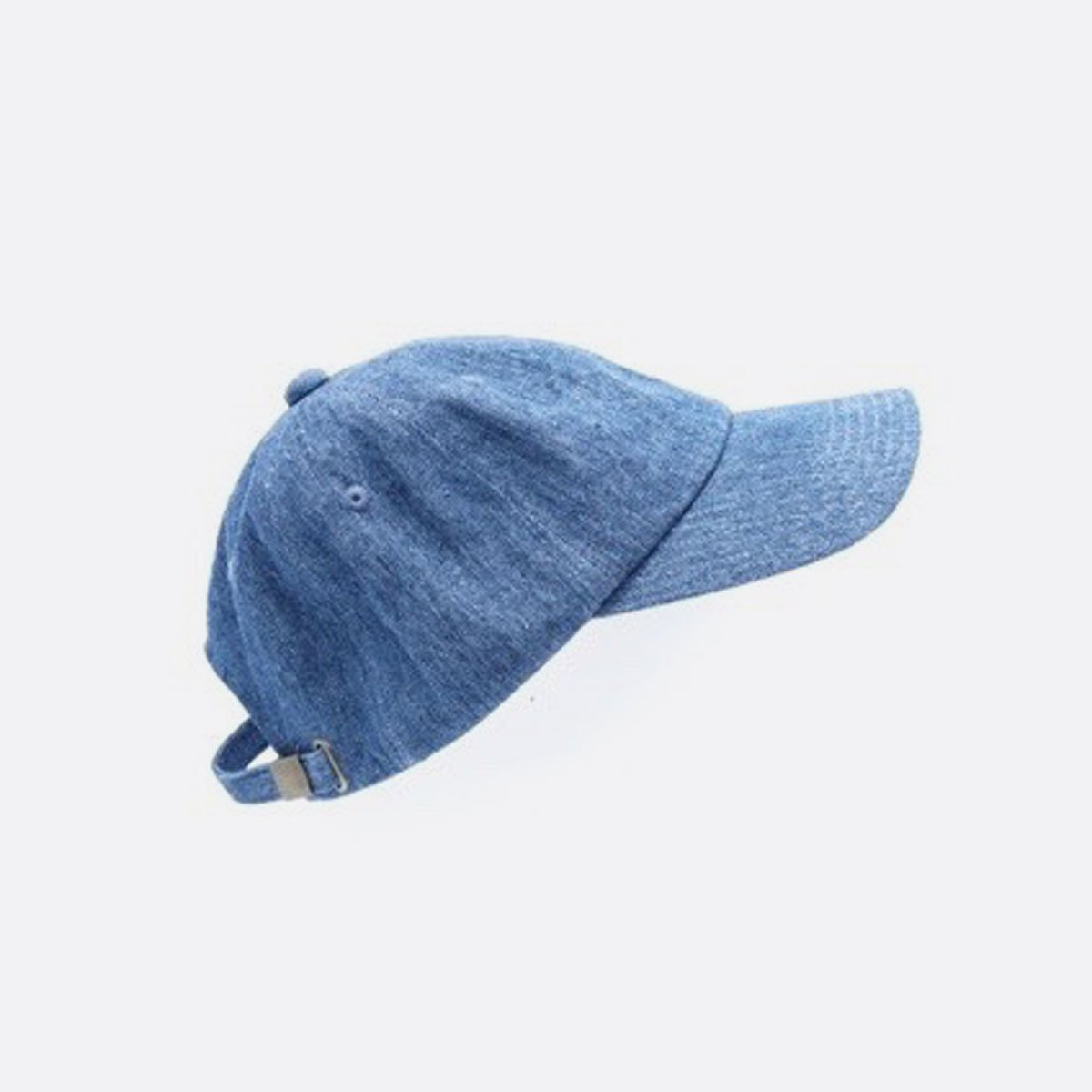 niuhans  Irish Linen Cotton Denim Baseball Cap (Light Indigo)