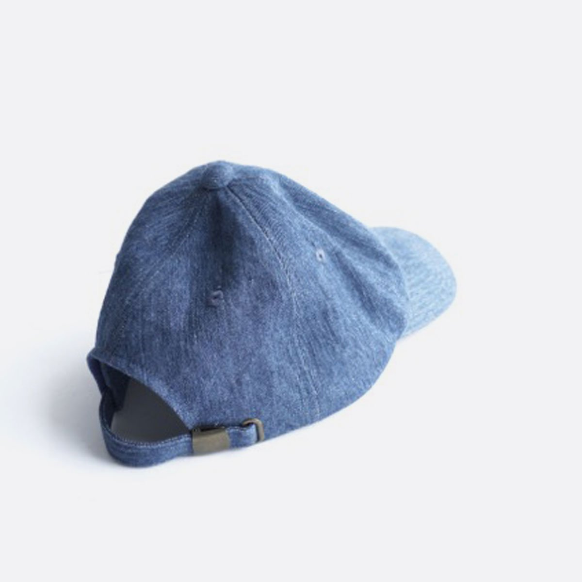 niuhans  Irish Linen Cotton Denim Baseball Cap (Light Indigo)2