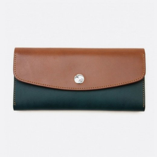 LEATHER LONG WALLET COMBI #LW2C