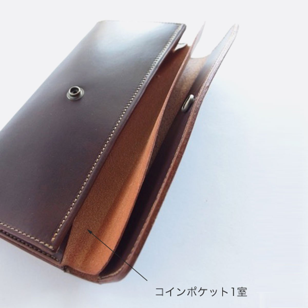 MOTO LEATHER WALLET LW2D (D.BROWN)2