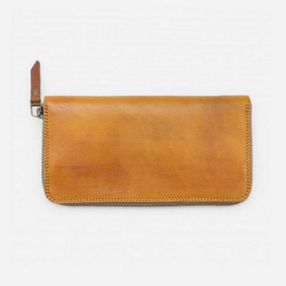 MOTO 手染めZIP LONG WALLET FW1D (YELLOW)
