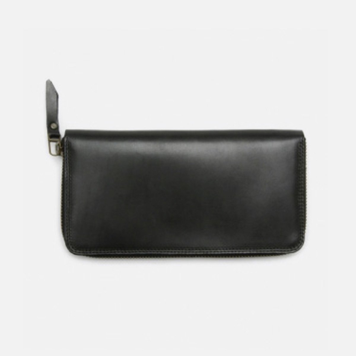 MOTO 手染めZIP LONG WALLET FW1D (D.BLACK)