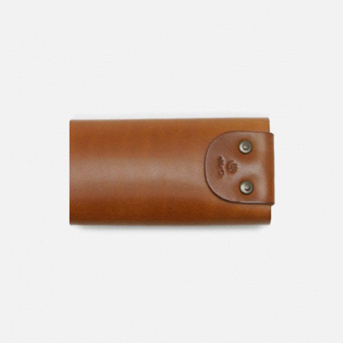 MOTO LEATHER KEYCASE (BROWN)2
