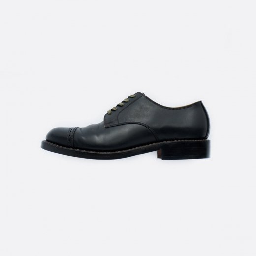 CORDOVAN CAP TOE OXFORD SHOES #2901