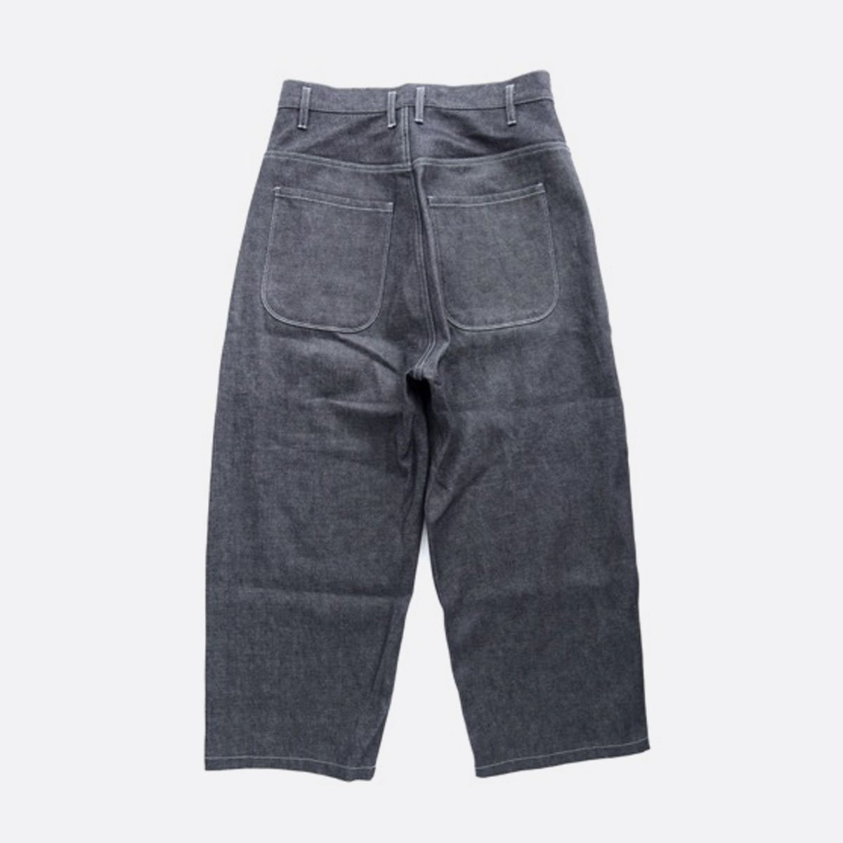 FIRMUM SUPIMA UNEVEN YARN BUGGY STRAIGHT SELVEDGE DENIM  (INDIGO)2