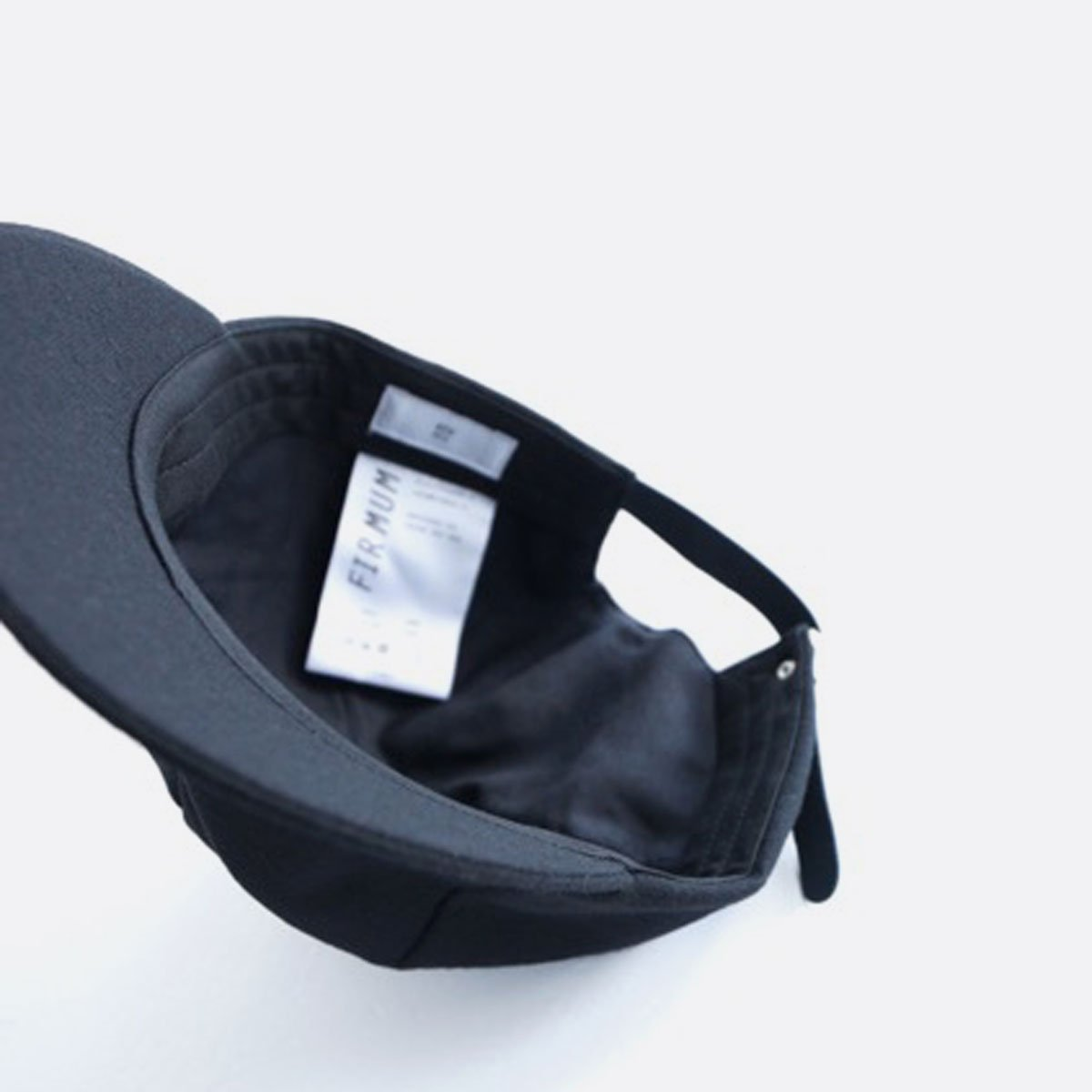 FIRMUM PLAIN WOOL CAP (BLACK)3