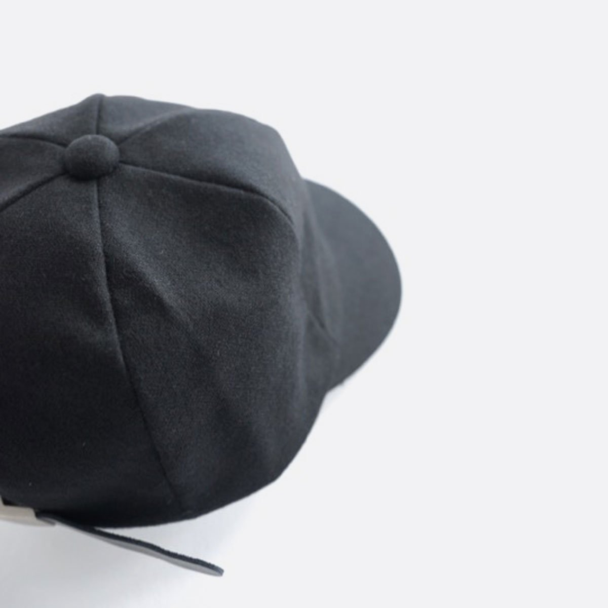 FIRMUM PLAIN WOOL CAP (BLACK)4