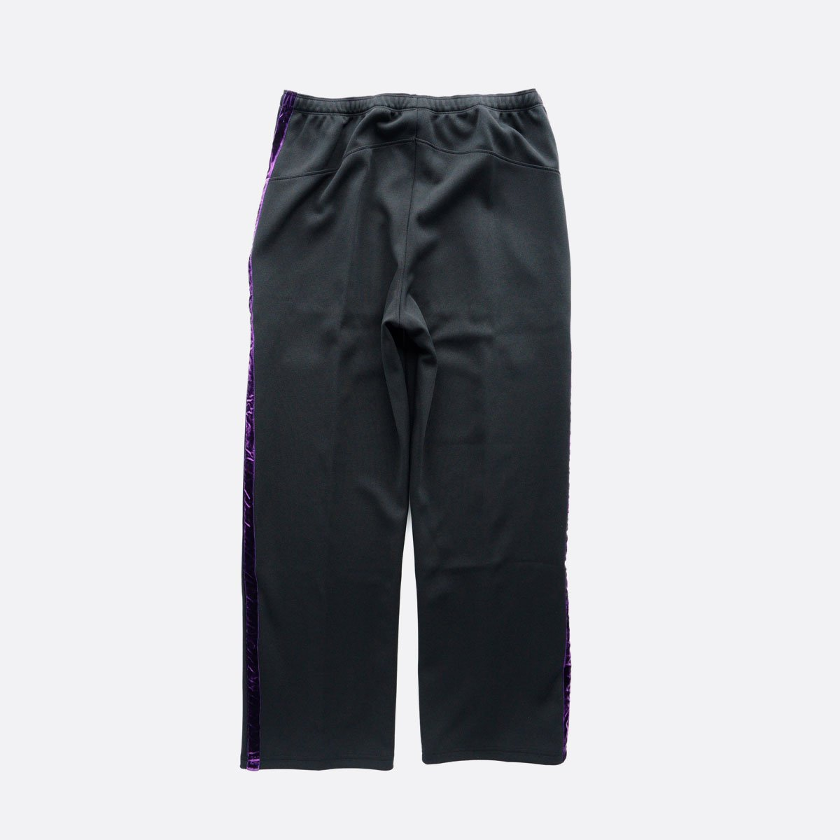 NEEDLES  Side Line Center Seam Pant - Poly Smooth  (black)2