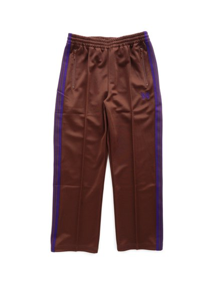NEEDLES  TRACK PANT - POLY SMOOTH  (Brown)