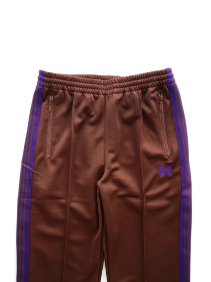 NEEDLES  TRACK PANT - POLY SMOOTH  (Brown)2