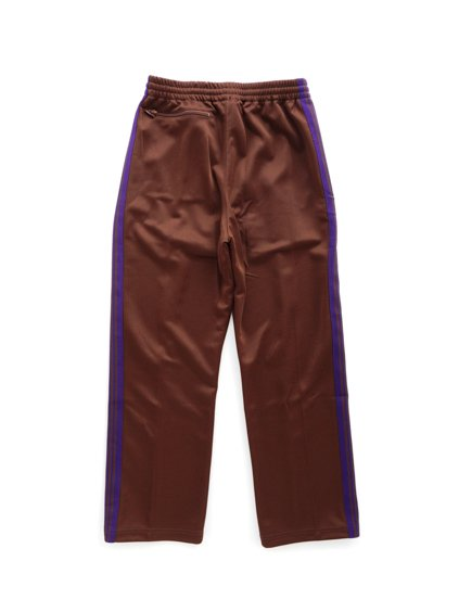 NEEDLES  TRACK PANT - POLY SMOOTH  (Brown)4