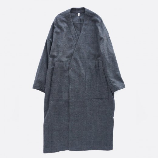 <img class='new_mark_img1' src='https://img.shop-pro.jp/img/new/icons39.gif' style='border:none;display:inline;margin:0px;padding:0px;width:auto;' />MILLING WOOL & COTTON TWILL COAT