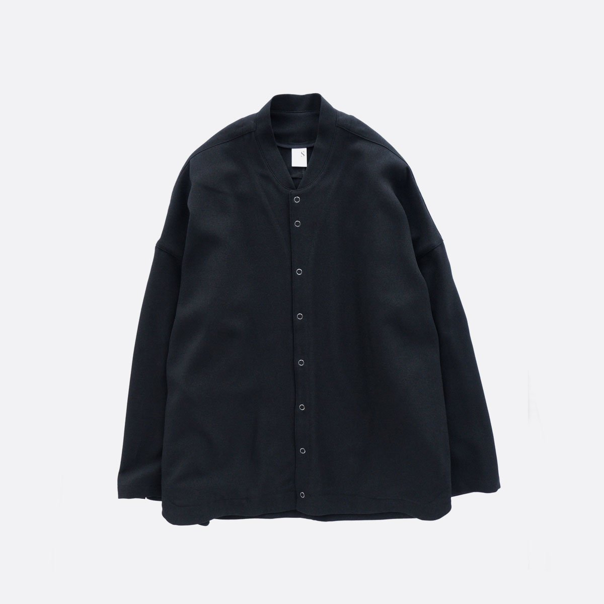 NO CONTROL AIR MIX MELANGE POLYESTER TWILL BLOUSON  (black)