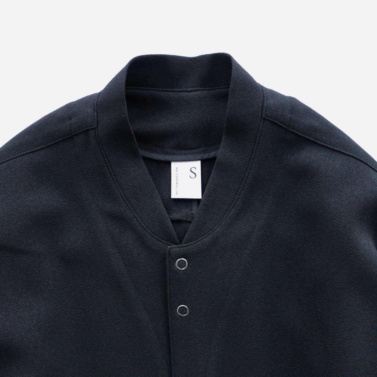 NO CONTROL AIR MIX MELANGE POLYESTER TWILL BLOUSON  (black)4
