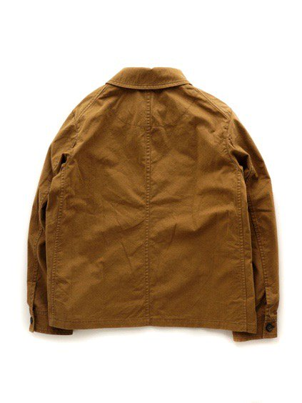 COLINA BDU Jacket   Organic Cotton Soft Chino  (Camel)4