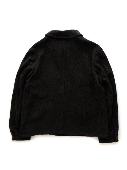 COLINA BDU Jacket   Hand Spun Cotton Twill  (Black)4