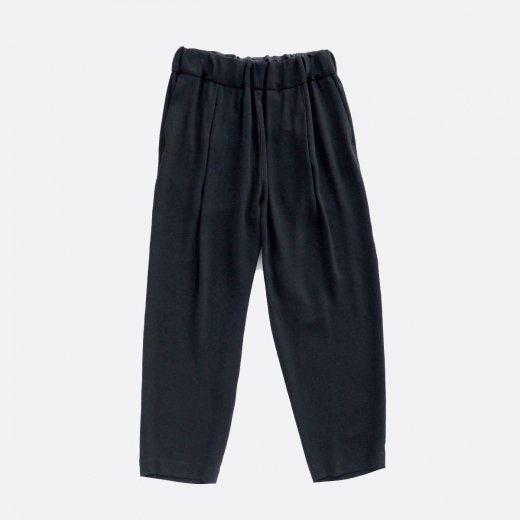 ACETATE & POLYESTER DOUBLE CLOTH TACK PANTS