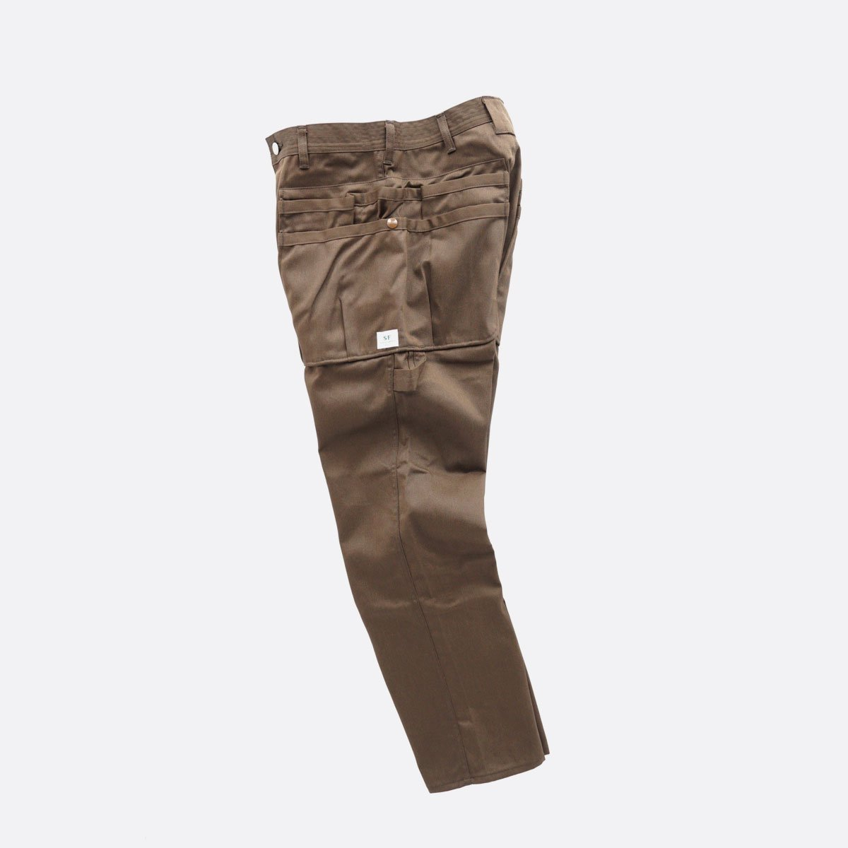 SASSAFRAS WHOLE HOLE PANTS T/C CHINO (BROWN)4