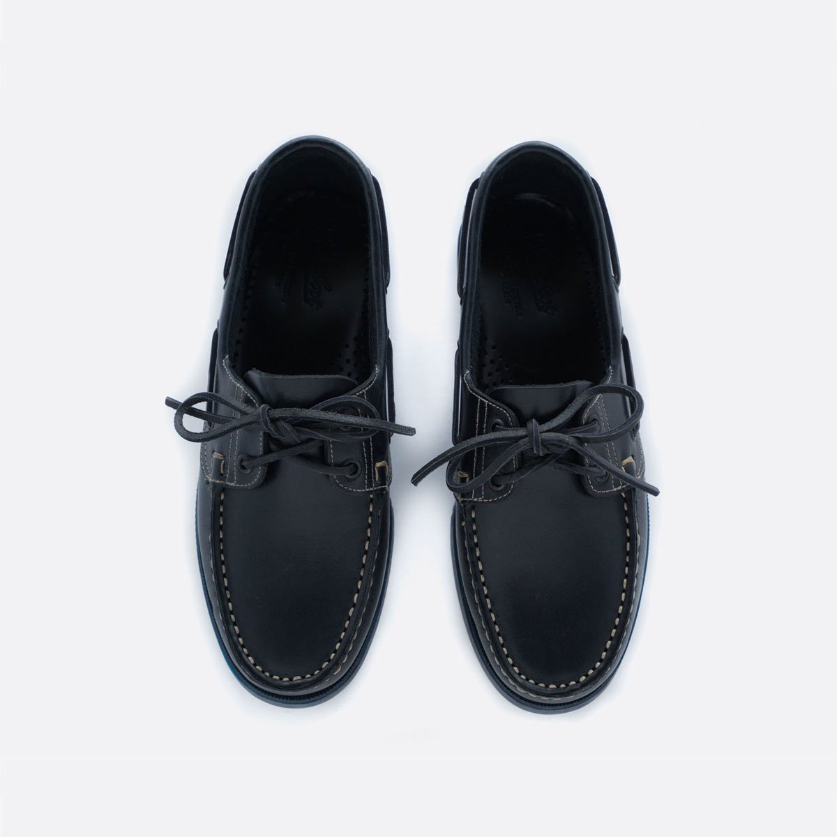 PARABOOT BARTH DECK SHOES (MARINE NAVY)2