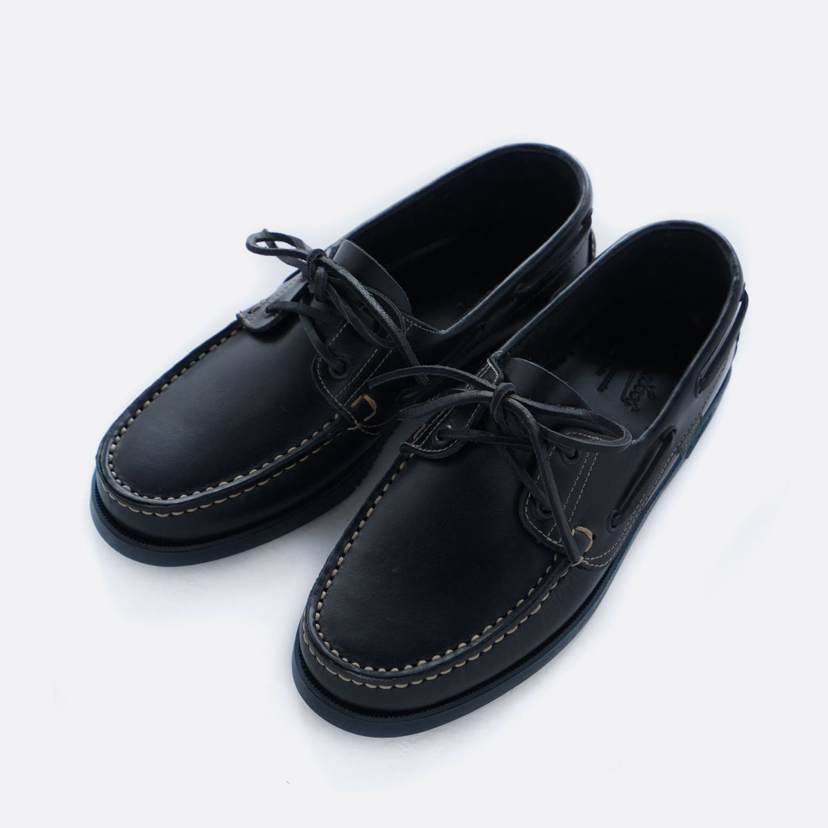 PARABOOT BARTH DECK SHOES (MARINE NAVY)3
