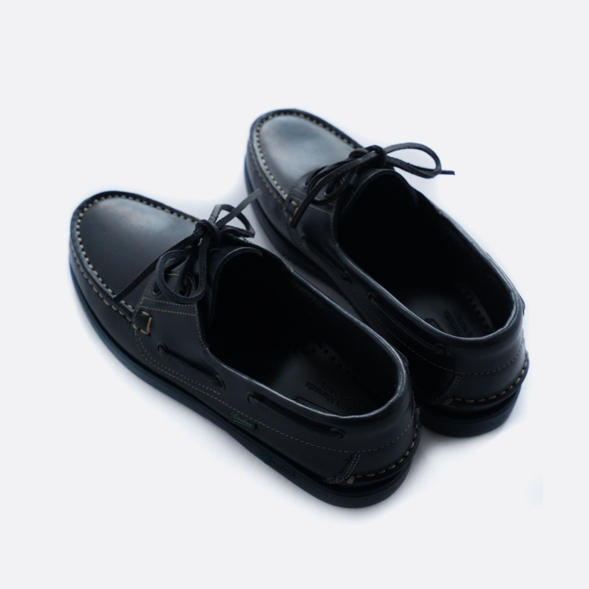 PARABOOT BARTH DECK SHOES (MARINE NAVY)4