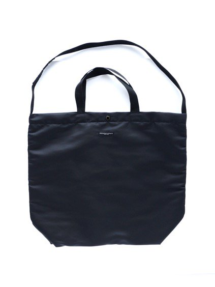Engineered Garments Carry All Tote - Flight Satin Nylon (BLACK)